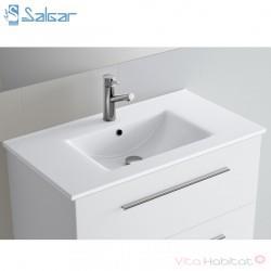 Vasque IBERIA 610 pour meuble salle de bain FUSION CHROME- SALGAR 14711
