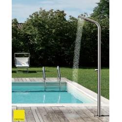 Colonne de douche mitigeur outdoor et indoor alimentation par le sol - CRISTINA ONDYNA WX51428