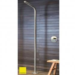 Colonne de douche monofluide outdoor et indoor alimentation par le sol - CRISTINA ONDYNA WX51228