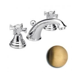 Mélangeur pour lavabo 3 trous vieux bronze RETRO CHAMBORD - CRISTINA ONDYNA CH11392