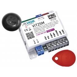 Kit contrôle d'accès pour résidence via micro-centrale autonome VIGIK - URMET VIT25M