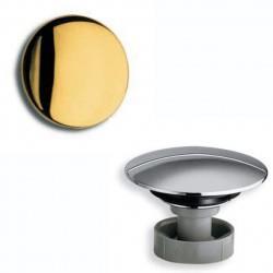Bouchon en laiton pour bonde Up&Down 64 mm doré VIDAGES - CRISTINA ONDYNA RI07152