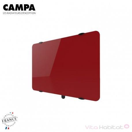 Radiateur électrique Campa - CAMPAVER Ultime 3.0 Horizontal Rouge carmin 1500W - CMUD15HCARM
