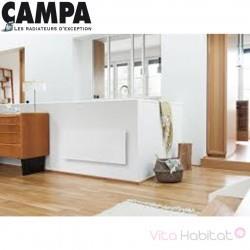 Radiateur électrique CAMPA CAMPALYS 3.0 Horizontal Blanc 1000W CYSD10HBCCB