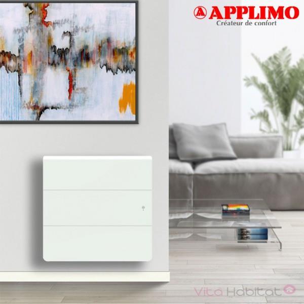 Radiateur Fonte Lena Smart Ecocontrol 1250w Horizontal Applimo 0012164se