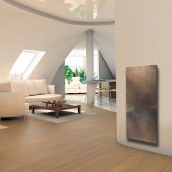 Radiateur electrique SMART STONE vertical 800W Terre Lunaire - Valderoma TL08VES