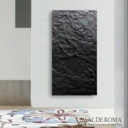 Radiateur rayonnant SLIM 1.0 Ardoise Noire 800W  - Valderoma 020800L