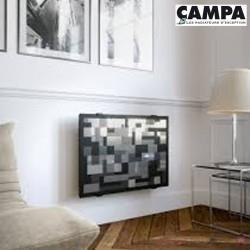 Radiateur électrique CAMPA CAMPAVER Select 3.0 Horizontal Modèle Pixel 2000W CMSD20HPIXL