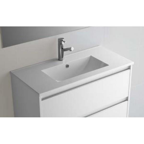 vasque en porcelaine Vasque IBERIA 610 porcelaine blanche SALGAR pour meuble de salle de bain -  21360