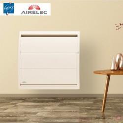 Radiateur electrique Fonte AIRELEC - AIREVO Smart ECOcontrol 1500W Horizontal Blanc - A693425