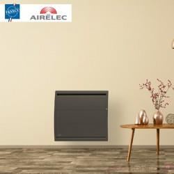 Radiateur electrique Fonte AIRELEC - AIREVO Smart ECOcontrol 1000W Horizontal Anthracite - A693453