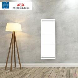 Radiateur electrique Fonte AIRELEC - AIREVO Smart ECOcontrol 1000W Vertical Blanc - A693433