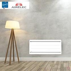 Radiateur electrique Fonte AIRELEC - AIREVO Smart ECOcontrol 1500W Bas Blanc - A693445