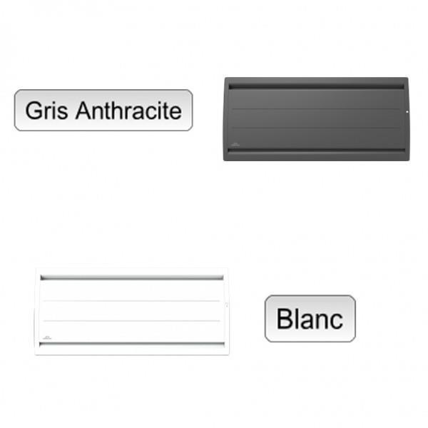 Radiateur electrique fonte airelec airevo smart ecocontrol - Radiateur electrique bas ...