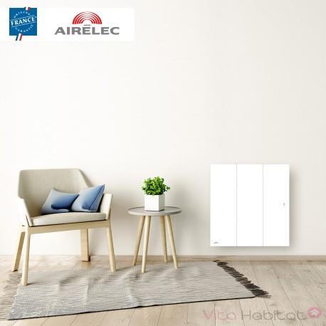 radiateur electrique fonte airelec ozeo smart ecocontrol 1000w horizontal blanc a693483. Black Bedroom Furniture Sets. Home Design Ideas
