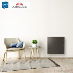 Radiateur electrique Fonte AIRELEC - OZEO Smart ECOcontrol 1000W Horizontal Anthracite - A693513