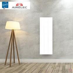Radiateur electrique Fonte AIRELEC - OZEO Smart ECOcontrol 1000W Vertical Blanc - A693493