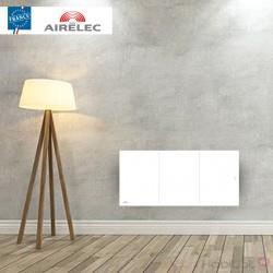 Radiateur electrique Fonte AIRELEC - OZEO Smart ECOcontrol 1000W Bas Blanc - A693503