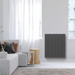 Radiateur Fonte NOIROT - BELLAGIO Smart ECOControl 750W Horizontal Gris Anthracite N1682SEHS