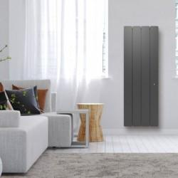 Radiateur Fonte NOIROT - BELLAGIO Smart ECOControl 1500W Vertical Gris Anthracite N1695SEHS