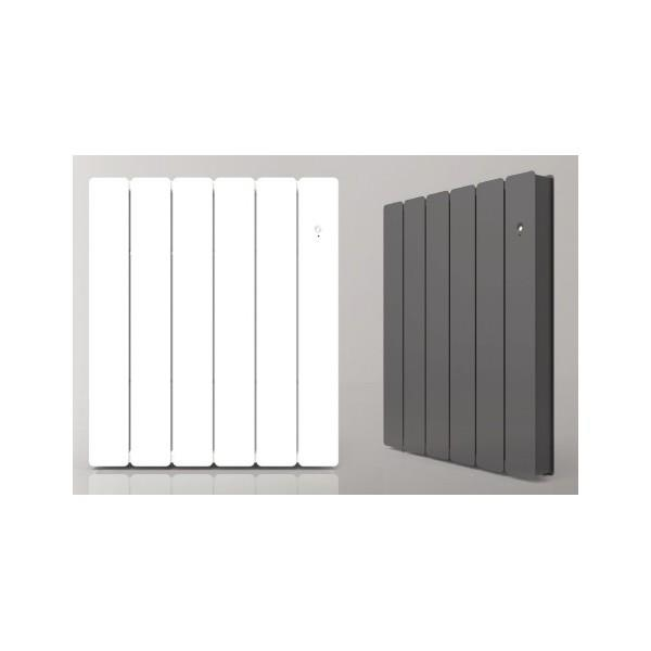 radiateur fonte airelec fontea smart ecocontrol horizontal gris anthracite. Black Bedroom Furniture Sets. Home Design Ideas