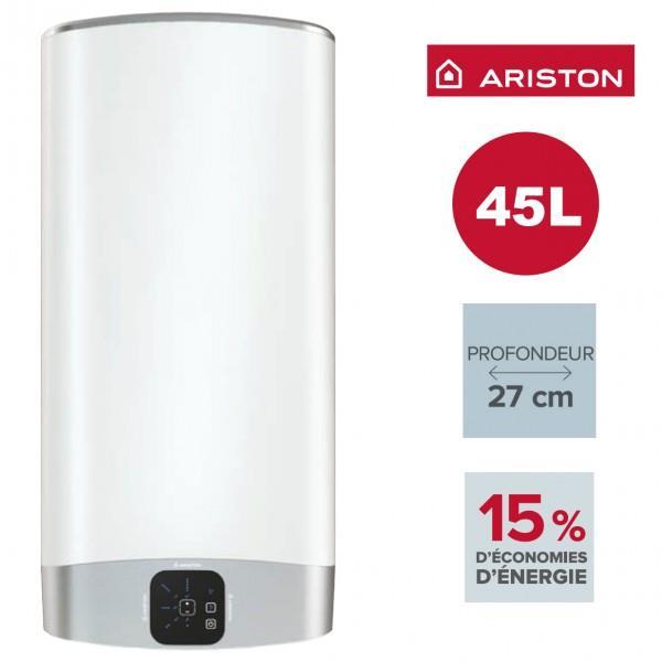 Chauffe eau ariston velis evo 45l vertical horizontal for Chauffe eau ariston prix