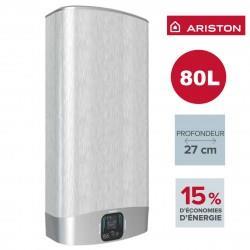 Chauffe-eau ARISTON Velis EVO PLUS GRIS 80L - vertical/horizontal electrique 3626157