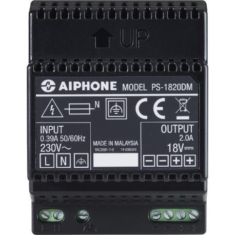 Alimentation PS1820DM 230 Vac / 18 Vcc - 2 A pour kit vidéo AIPHONE - 110914