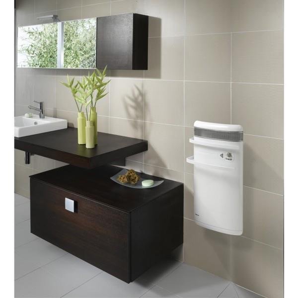 S che serviettes noirot cc bain soufflant 1400w blanc - Seche serviette faible largeur ...
