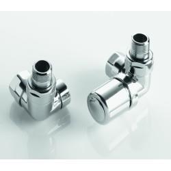 Pack robinetterie manuelle thermostatisable équerre d'angle - ACOVA 841608