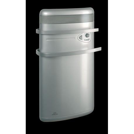 Seche-serviettes AIRELEC INDIGO 1400W - Rayonnant + soufflerie - Alu - A690475