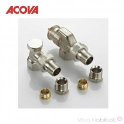 Pack robinetterie Performance équerre inversée - ACOVA 829130