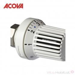 Tête thermostatique design blanche - ACOVA 841271