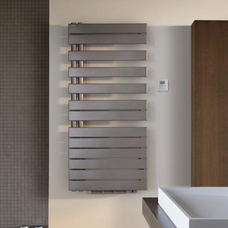 Sèche-serviette ACOVA - FASSANE SPA  + AIR Asymétrique à gauche eau chaude 1594W (594W + 1000W) FL118-055IFS