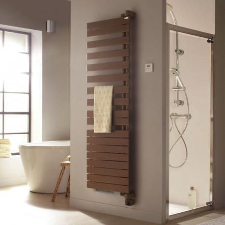 Sèche-serviette soufflant ACOVA - REGATE TWIST + AIR pivot à droite eau chaude 1594W (594W+100W) XRR128-055IFS