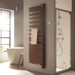 Sèche-serviette soufflant ACOVA - REGATE TWIST + AIR pivot à droite eau chaude 1809W (809W+100W) XRR177-055IFS