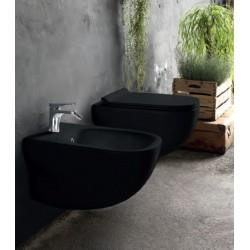 WC suspendu avec abattant design WILD BLACKMAT - CRISTINA ONDYNA WWL306013