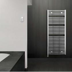 Sèche-serviette électrique LVI Jarl RF Cintré Chromé 500W - 4850032
