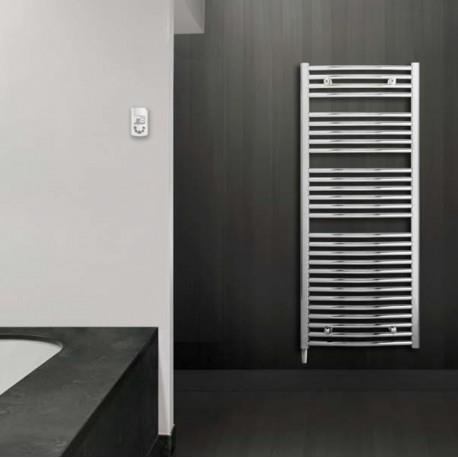 s che serviette lectrique lvi jarl rf cintr chrom 500w 4850032. Black Bedroom Furniture Sets. Home Design Ideas