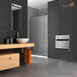 Sèche-serviettes électrique LVI - APANEO Bas 600W FLUIDE - 4890132