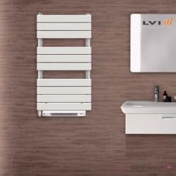 Sèche-serviettes électrique LVI - APANEO RF T Soufflant 1450W (500W + 950W) FLUIDE - 4890031