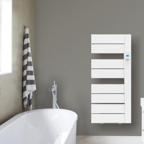 Sèche-serviettes électrique soufflant Applimo BALINA Blanc 1650W (650W +  1000W) - 0016186FDAJ