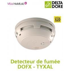 Détecteur de fumée DOFX Delta Dore TYXAL (piles incluses) 6412206