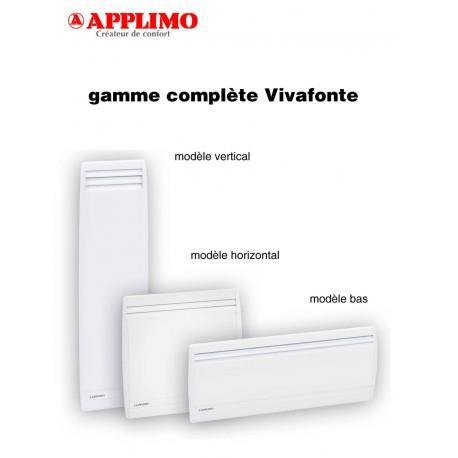 Radiateur Fonte APPLIMO - VIVAFONTE 2 - 1500W Vertical - 0011885BB
