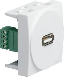 Systo 2M Prise USB HAGER WS265