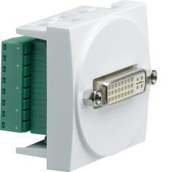 Systo 2M DVI-D à bornier à vis HAGER WS274