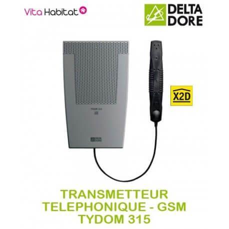 TYDOM 315 GSM-Transmetteur telephonique GSM Delta Dore - 6701017