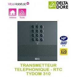 TYDOM 310 - Transmetteur téléphonique vocal et digital RTC Delta Dore - 6700015