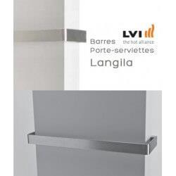 Porte-serviettes LVI pour radiateur LANGILA Longueur 775mm