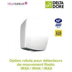 IRSX - Détecteur de mouvement Radio infrarouge- Delta Dore - piles fournies - 6412220